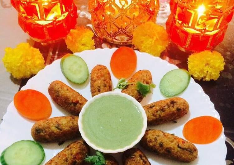 Mix Veg Daliya Rolls