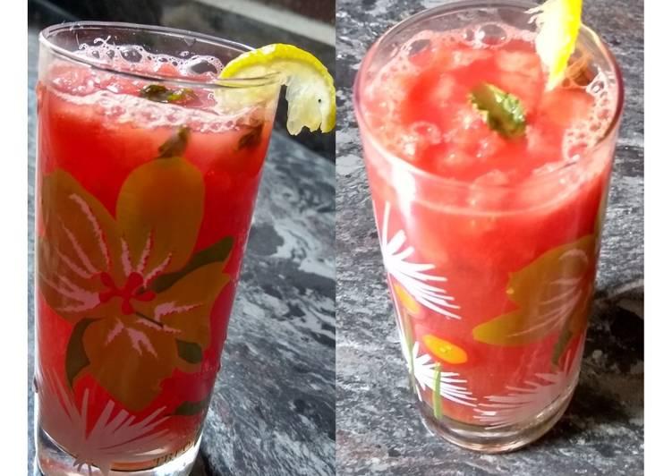 Recipe of Most Popular Watermelon Mocktail
