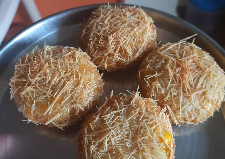 Corn crispy cutlets 😋 - Laurie G Edwards