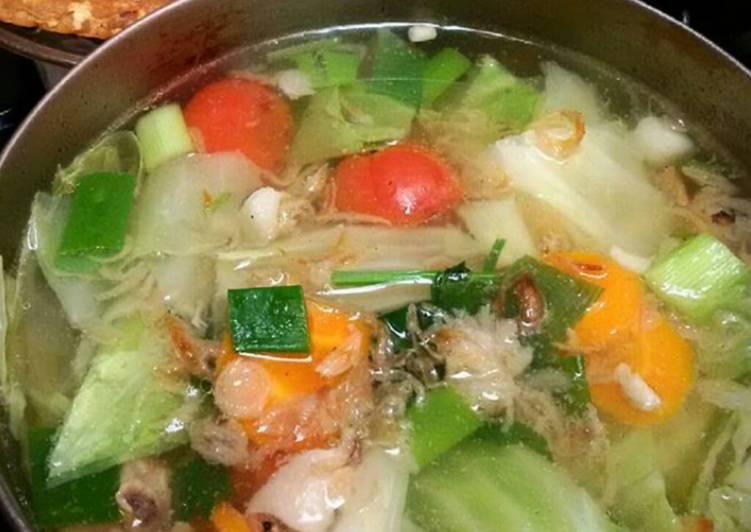 SOP JOWO (sup sayur)
