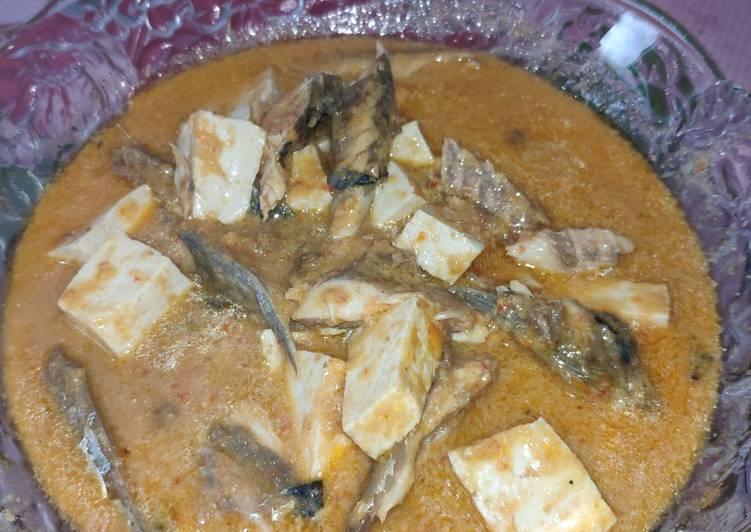 Ikan Salem Tahu Santan