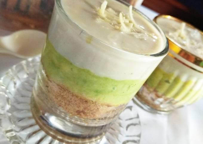 Avocado dessert camilan 9bulan+