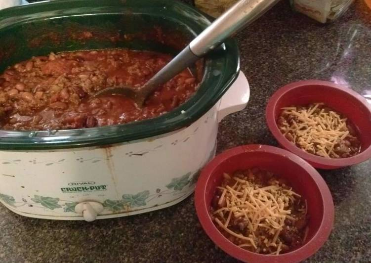 Steps to Prepare Perfect Crockpot Chili