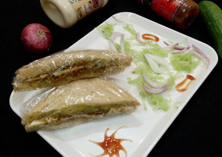 Easiest Way to Make Appetizing Cucumber Sandwich