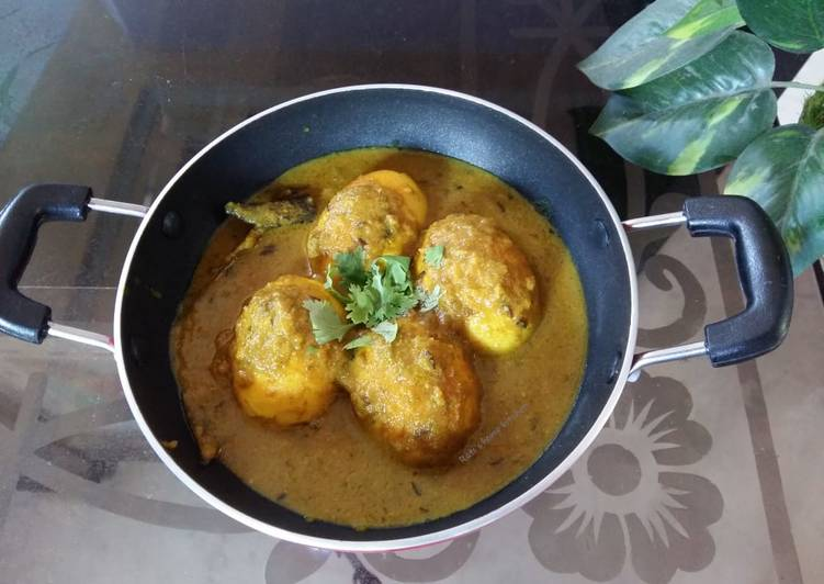 Easy and tasty egg curry