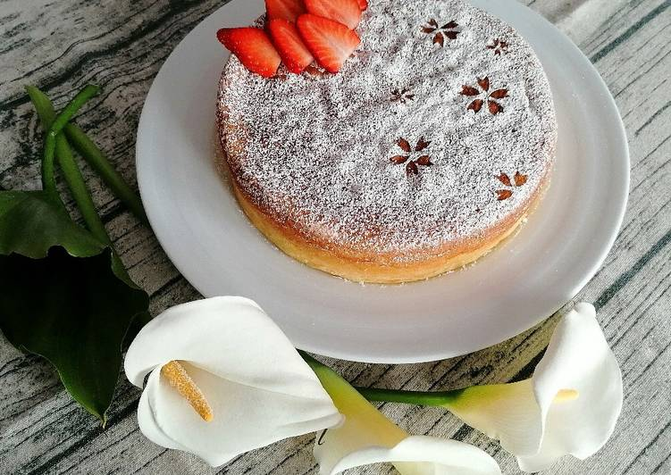 Cheesecake giapponese senza glutine