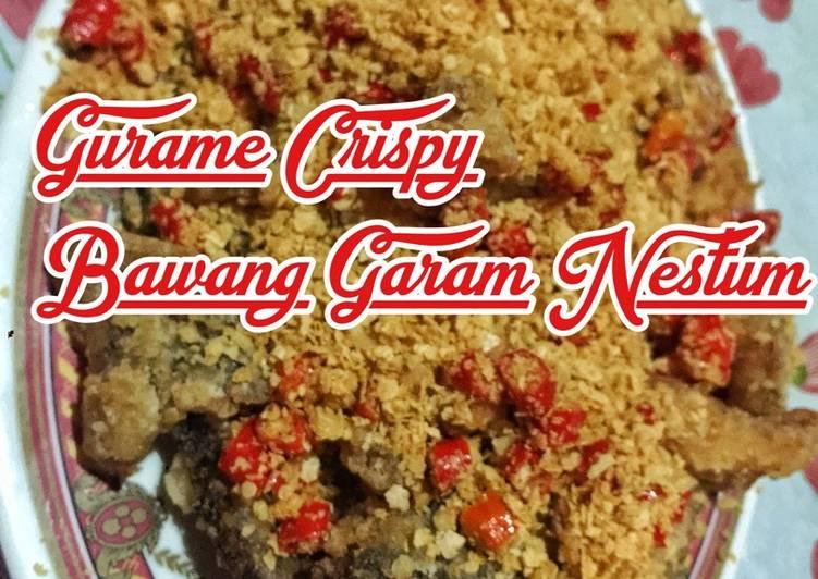 Resep Gurami Crispy Bawang Garam Nestum ala JTT