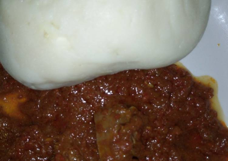 Pounded yam with soup, Heart Friendly Foods You Should Eat