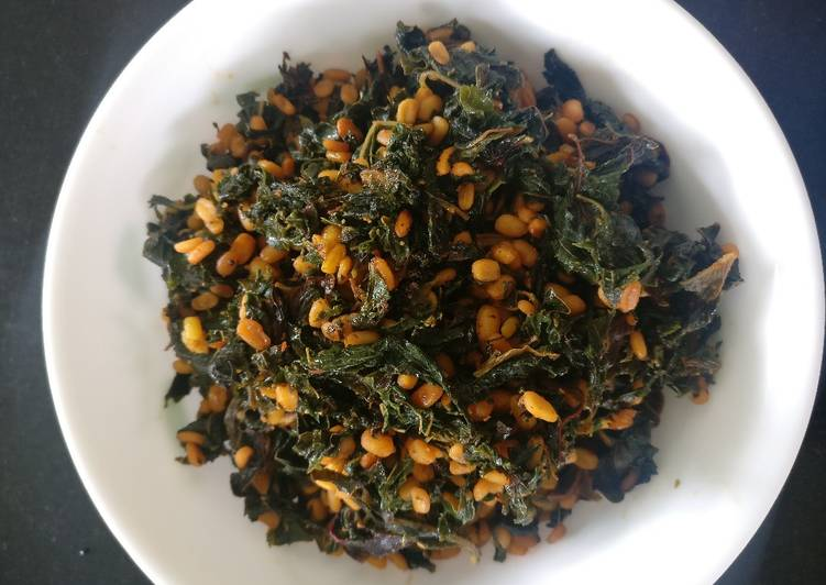 Recipe of Perfect Amaranth Leaves Stir Fry