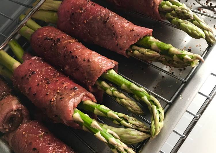 Easiest Way to Prepare Yummy Wrapped asparagus