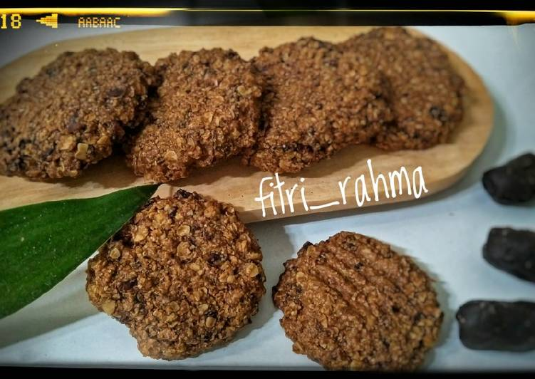 Oat Dates Cookies - cookandrecipe.com