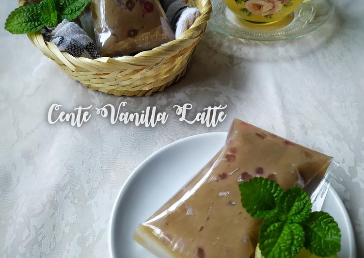 Cente Vanilla Latte - cookandrecipe.com