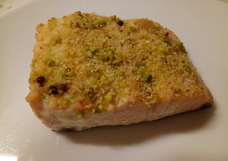 Step-by-Step Guide to Prepare Award-winning Salmon with a pistachio and red pepper crust