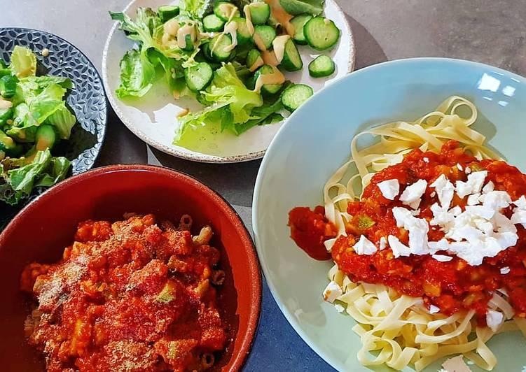 Sauce bolognaise veggie