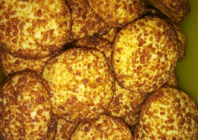 Palm suiker cookies
