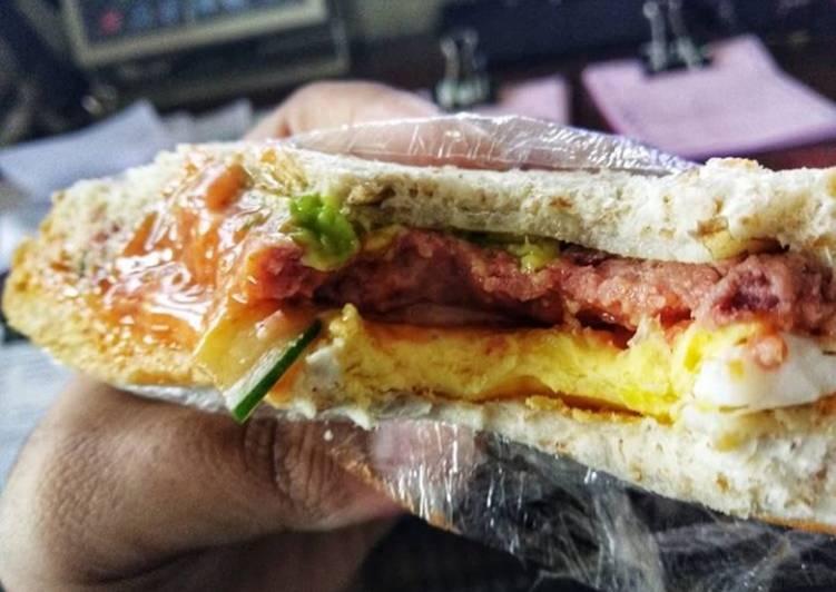 Resep Sandwich ala me😍 Paling Gampang