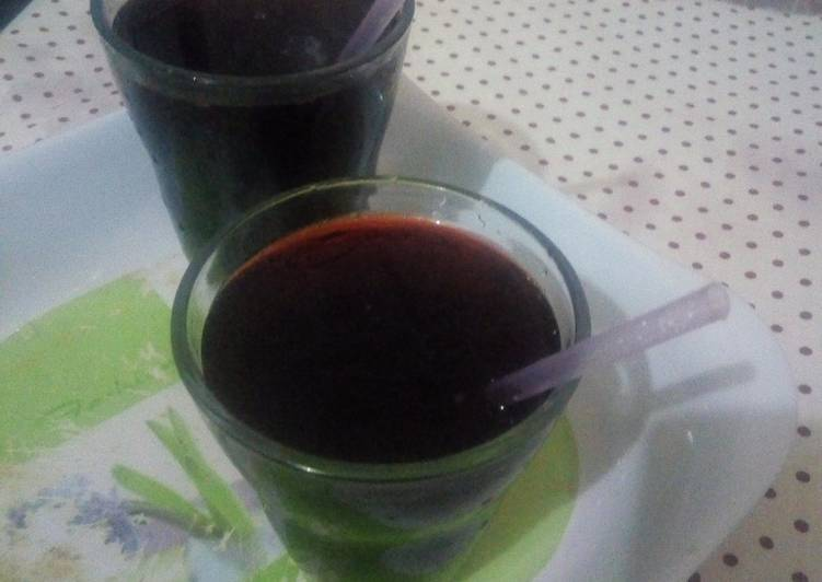 Easiest Way to Make Quick Lemongrass Zobo drink