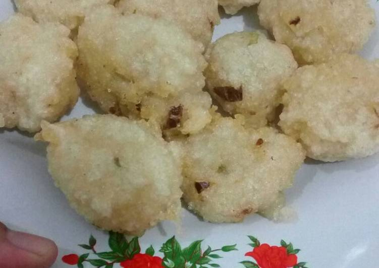 Cireng nasi anti meledus