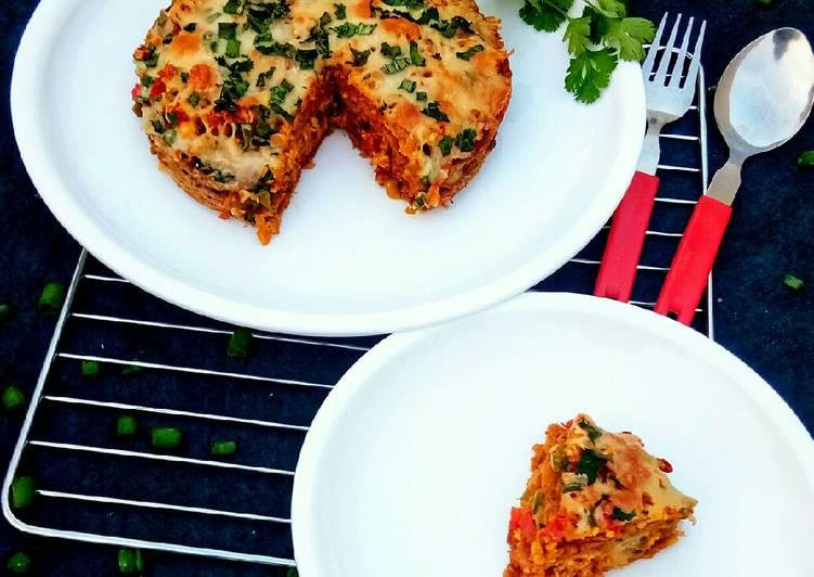 25 Minute Simple Way to Make Fall Stuffed Panchratan Lasagna