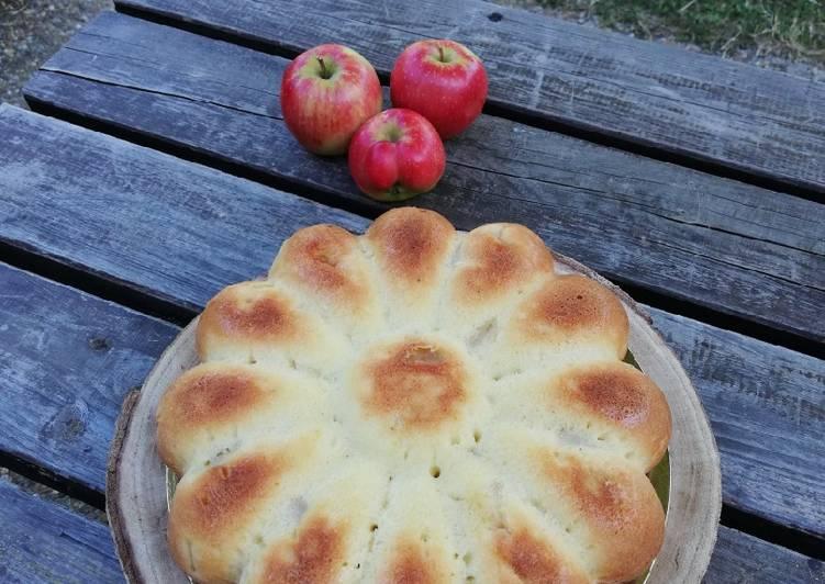 Recette: Gâteau marguerite aux pommes 🍎🌼🍎