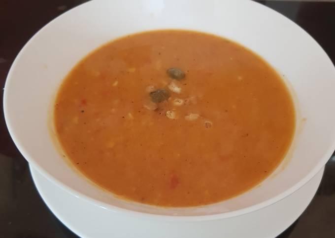 My Sweet Potato and Sweetcorn Soup. 😘