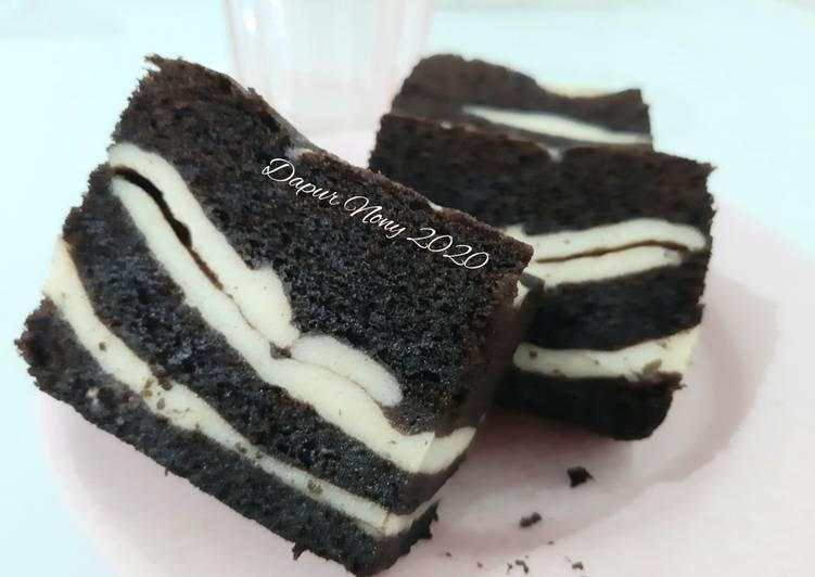 Brownies Kukus Cheese Cake