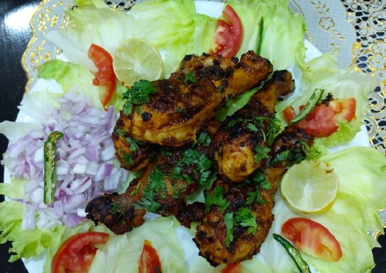 Pery pery grilled chicken with sauce