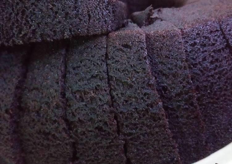 Cara Gampang Membuat Bolu coklat kukus simpel banget no mixer, Bisa Manjain Lidah