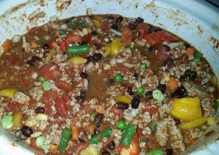 Papa's Pork chili