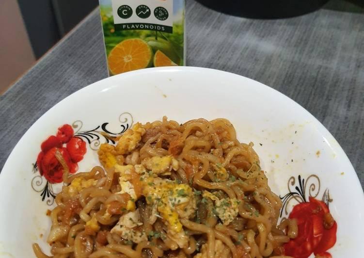 Resep Indomie Goreng Sayur Paling Gampang