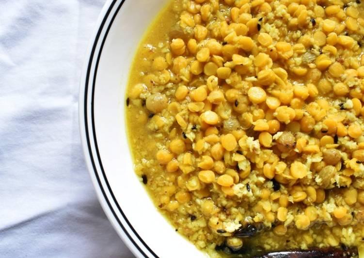 Bengali Chanar Dal l Bengali Split Chickpea Soup