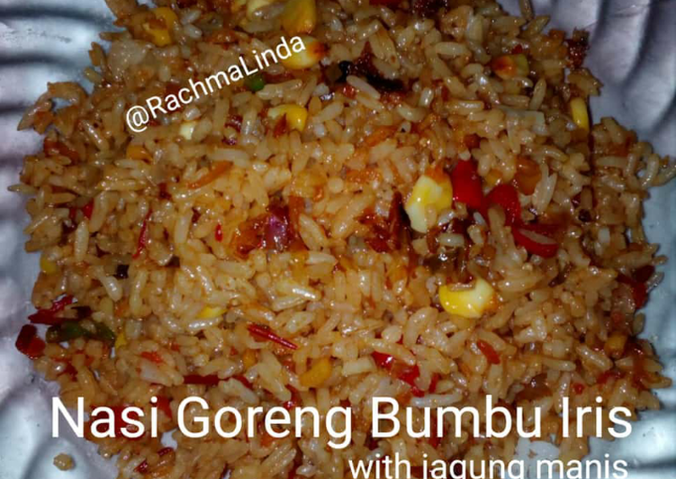 Nasi Goreng Bumbu Iris --Part 2-- (with jagung manis)