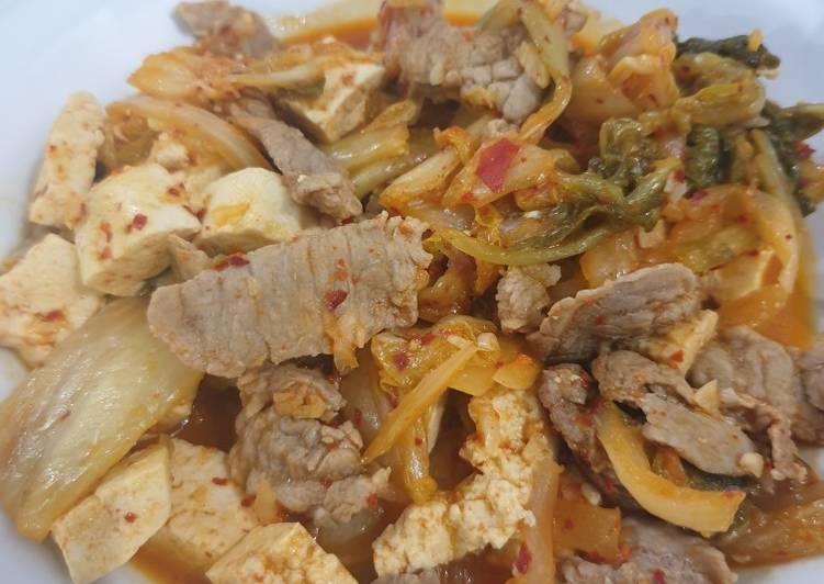 Kimchi beef & tofu