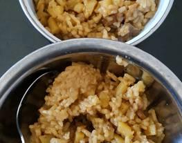Nasi Tim Ayam, Kentang, dan Ati Ayam (bisa utk BALITA)