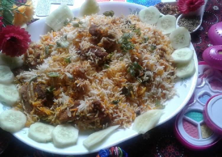 How to Make Speedy Mutton biryani