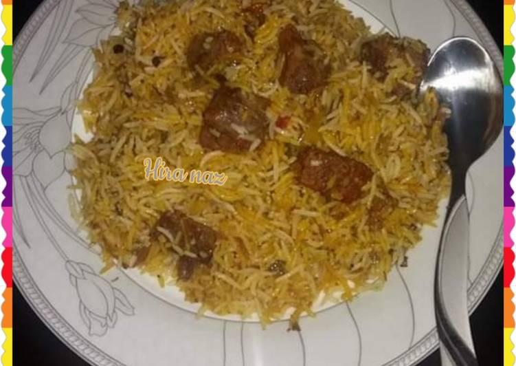 What is Dinner Easy Love Beef Biryani