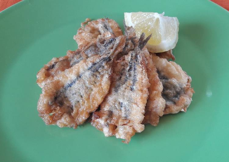Ricetta Alici Indorate e Fritte
