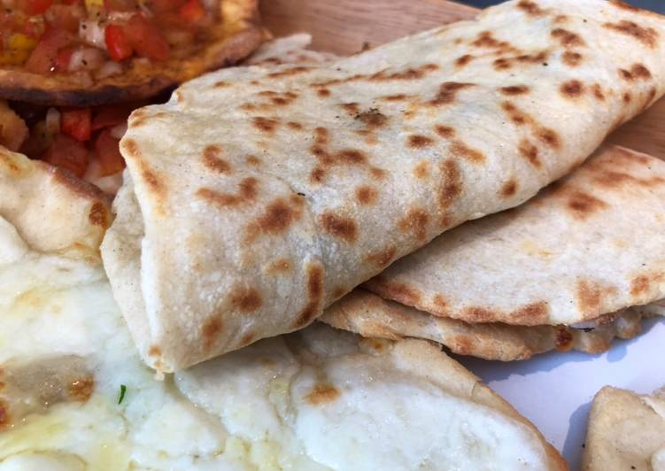 Recipe of Award-winning Manoushe (منقوشه) - Lebanese Flatbread with Toppings