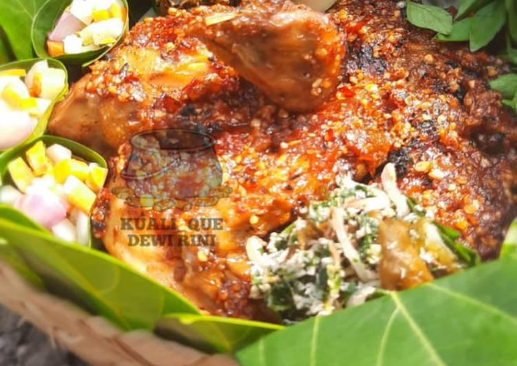 Ayam Joper Panggang Bumbu Kacang