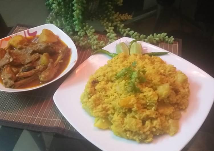 Vegetable Khichuri