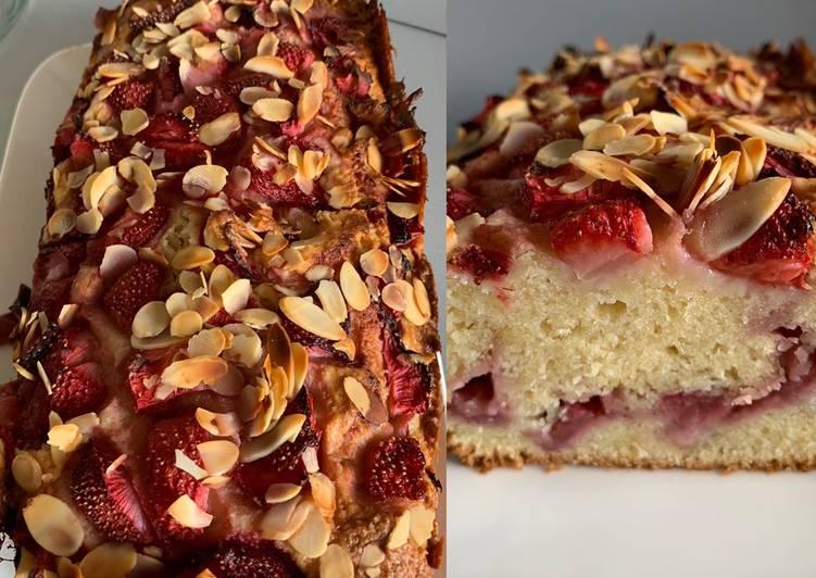Cake fraise / amande