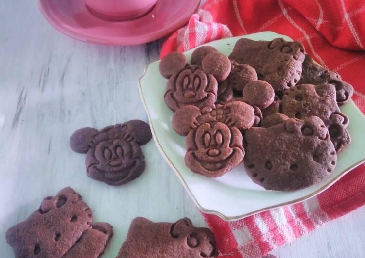 Chocolate Cookies Fancy #KamisManis - cookandrecipe.com