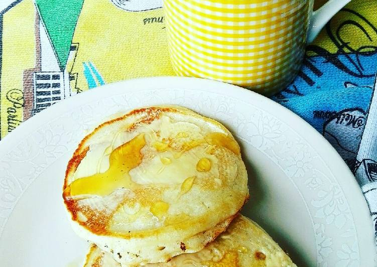 Steps to Make Quick Light and fluffy pancakes