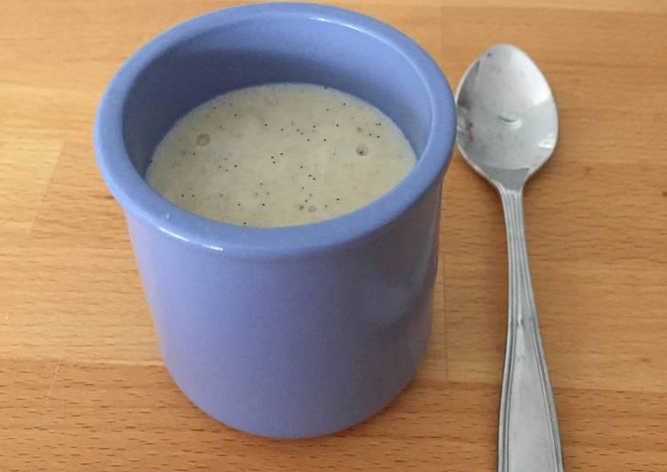 Recettes Semoule au lait à la vanille