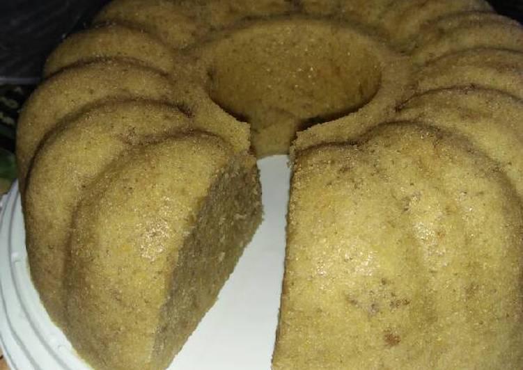 Bolu Pisang Kukus Simpel (no mixer, no oven, no timbangan)