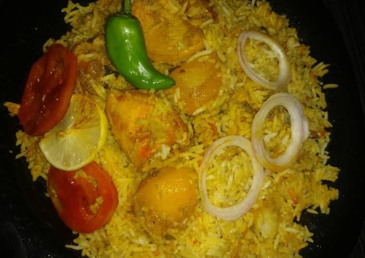 Chicken Biryani #kokabandcookpad