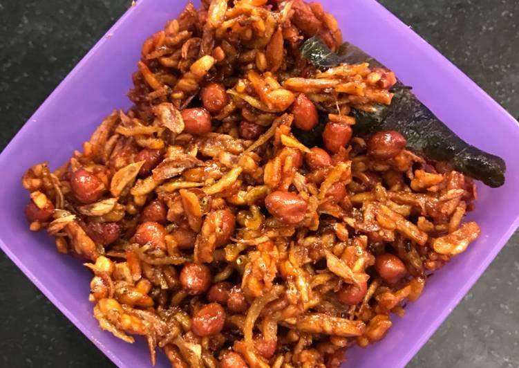 Resep Kering Tempe, Teri Medan & Kacang oleh Mrs. Khan - Cookpad