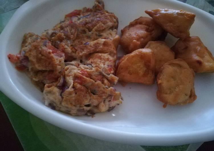 Recipe: Tasty Deep fried viazi tamu-sweet potatoes