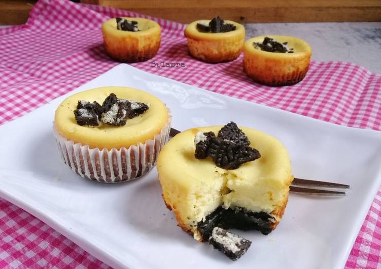 Mini Cream-O Cheesecake