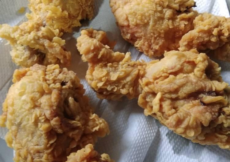 Ayam goreng krispi ala McD